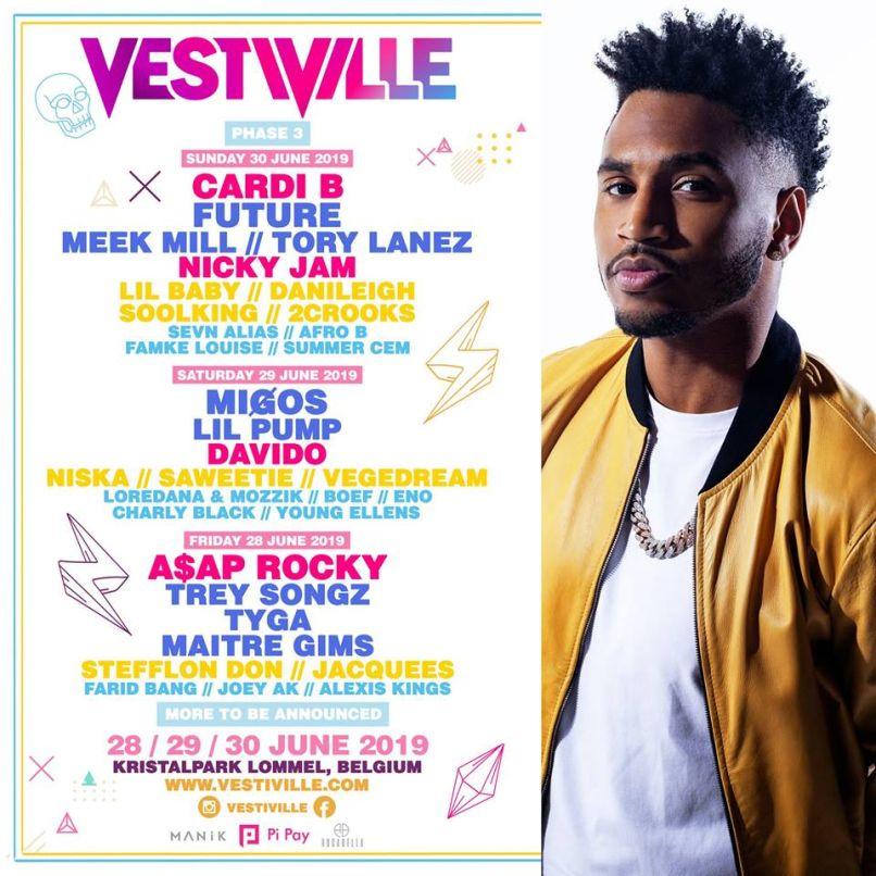 VestiVille 2019 Festival Lineup