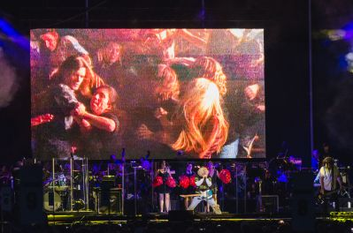 """""""Weird Al"""" Yankovic with Queens Symphony Orchestra Forest Hills Stadium Strings Attached Tour Review"""