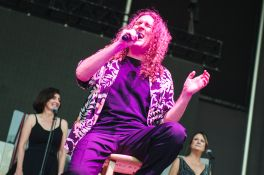 """Weird Al"" Yankovic with Queens Symphony Orchestra Forest Hills Stadium Strings Attached Tour Review"