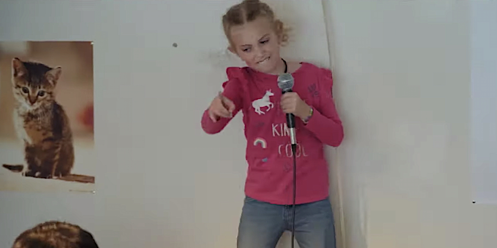 8-Year-Old Girl Leads Cover of Slipknot's
