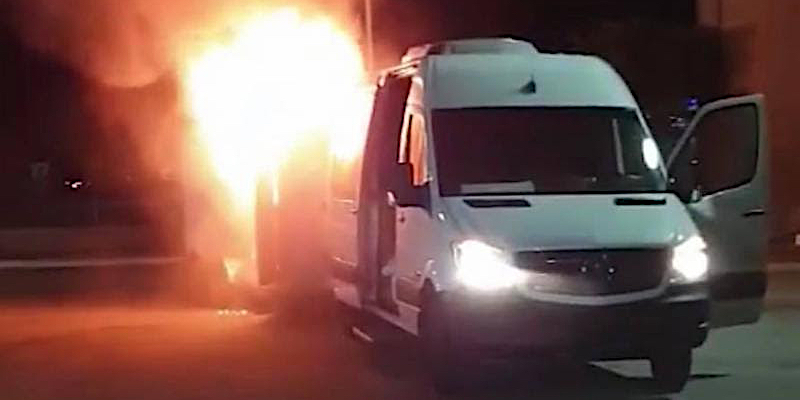 Betraying the Martyrs van fire