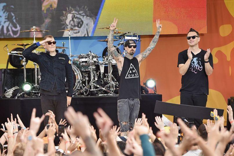 Blink 182 on Good Morning America