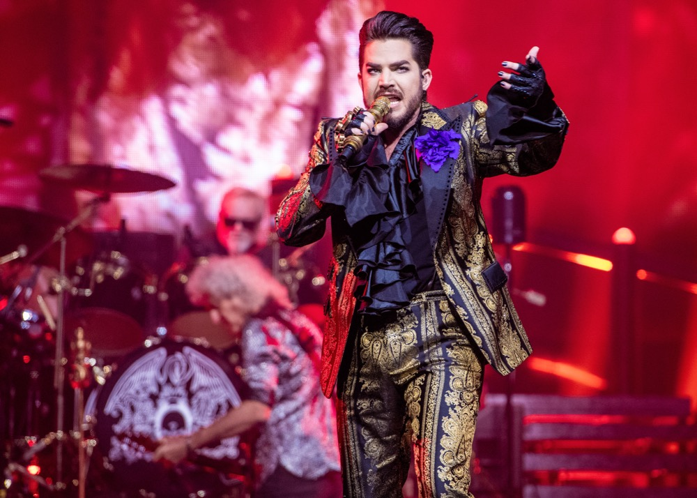 Live Review Queen And Adam Lambert At Houston S Toyota
