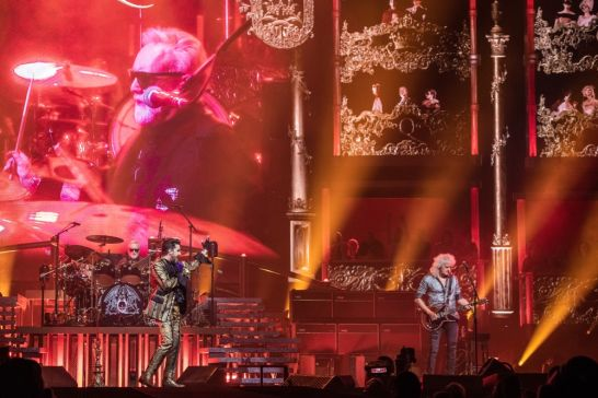 Queen + Adam Lambert // Photo by David Brendan Hall