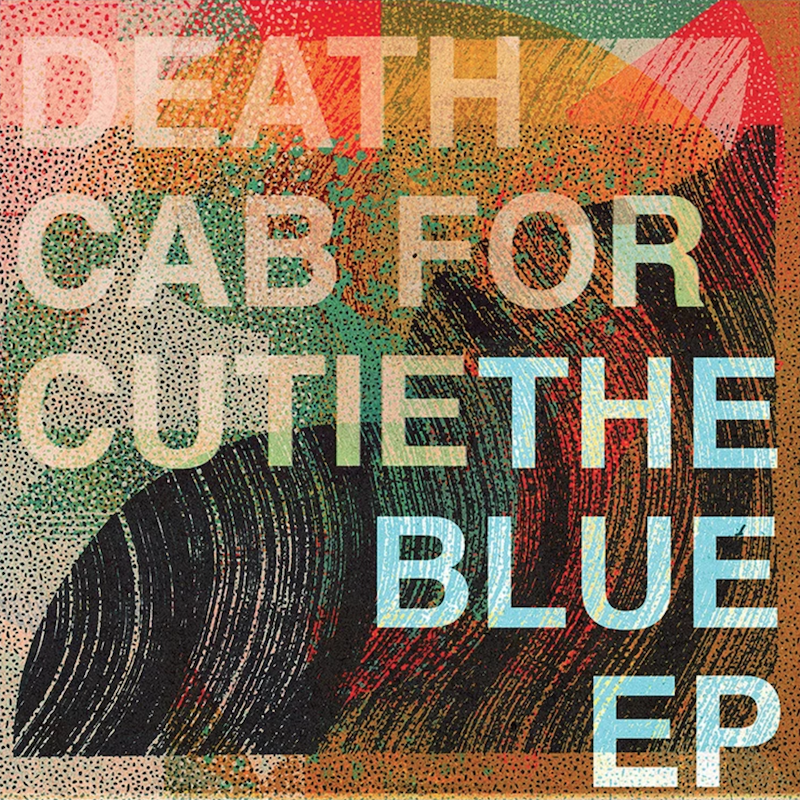 Death Cab For Cutie The Blue EP Kids in 99 cover artwork