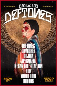 Deftones Dia De Los Deftones