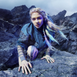 Grimes Experimental Eye Surgery Adidas Stella McCartney