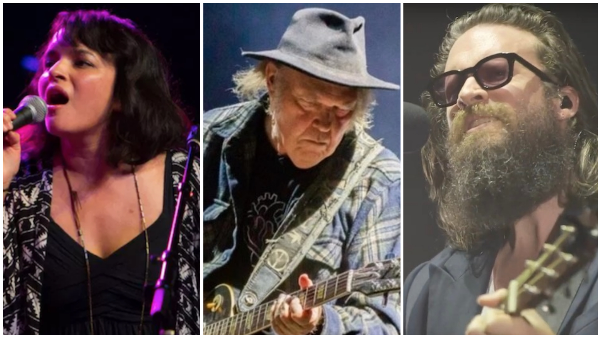 Neil Young, Norah Jones, and Father John Mist to play Harvest Moon benefit show