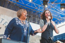 Hozier and Mavis Staples at Newport Folk Festival 2019 Ben Kaye