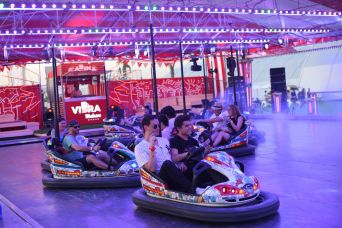Mad Cool Festival Bumper Cars, photo by Paco Poyato