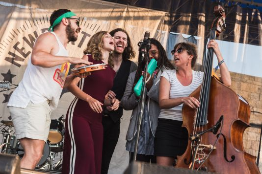 If I Had a Song Hozier Lake Street Dive Newport Folk Festival 2019 Ben Kaye
