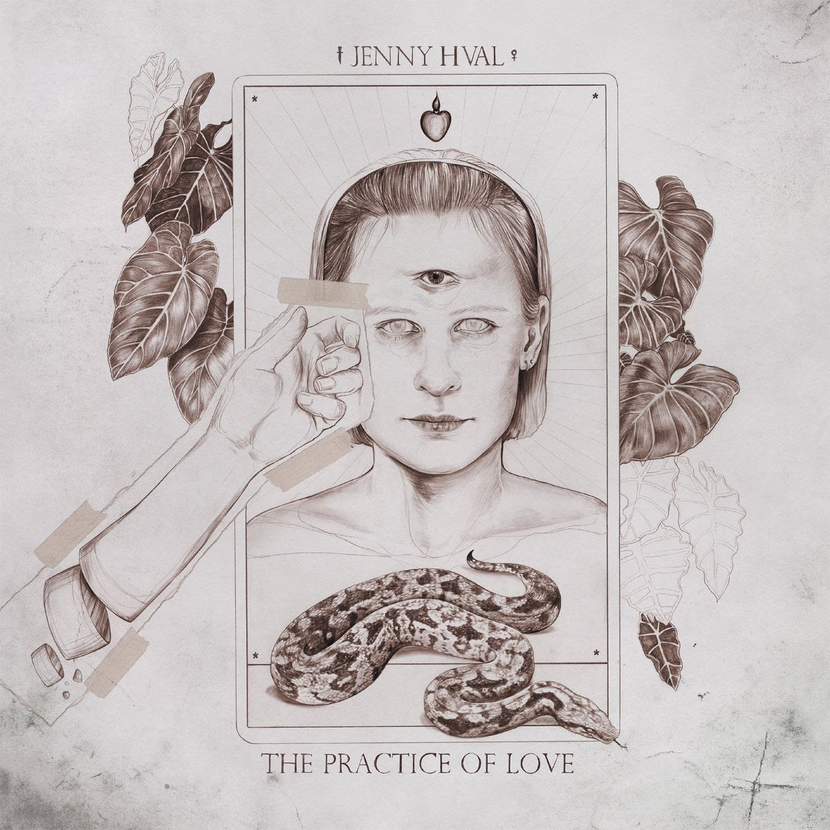Jenny Hval the practice of love album cover artwork