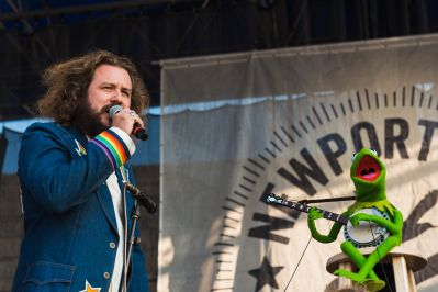 Jim James Kermit the Frog If I Had a Song Newport Folk Festival 2019 Ben Kaye
