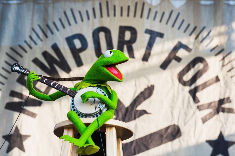 Kermit the Frog If I Had a Song Newport Folk Festival 2019 Ben Kaye-1