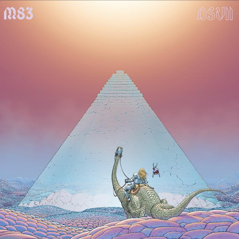 M83 DSVII Album Cover Art