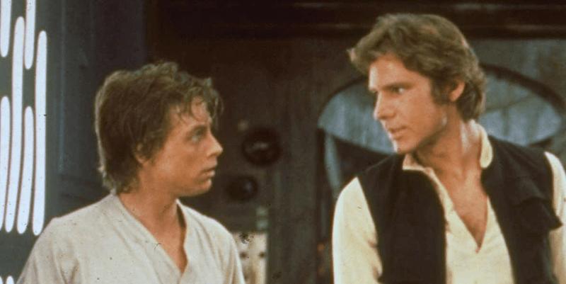 Mark Hamill Harrison Ford Star Wars a New hope screen test
