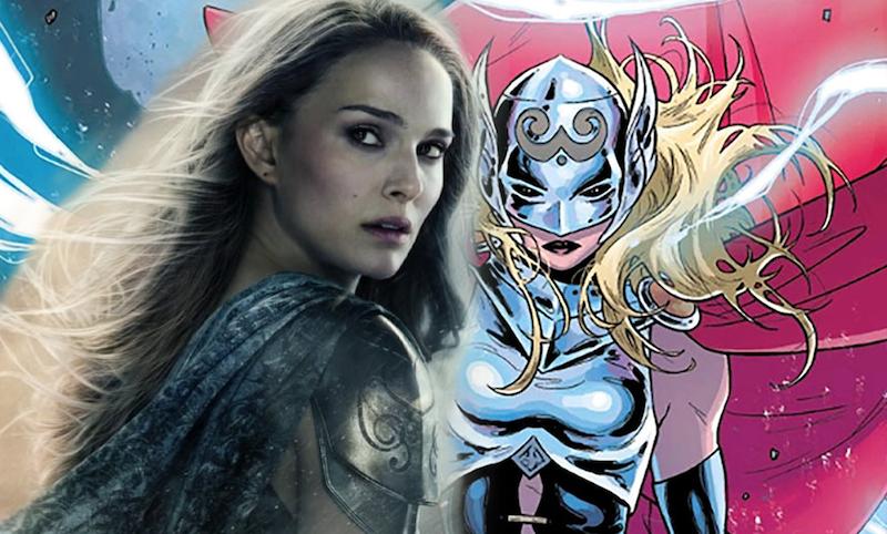 Natalie Portman Becoming Goddess of Thunder in Thor: Love and Thunder