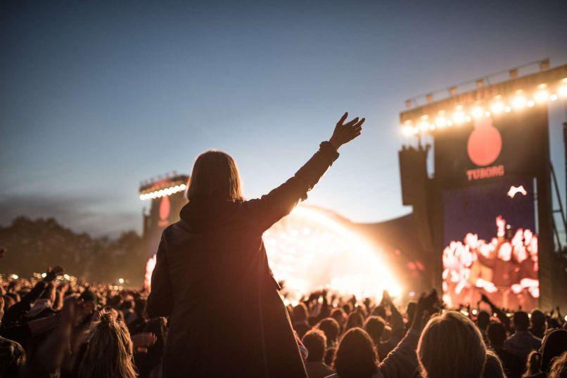 Roskilde Crowd, photo by Nicolai Vilhelmsen