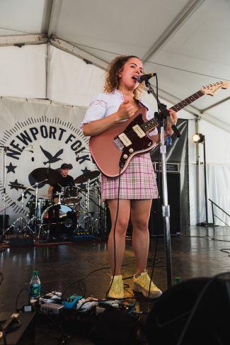 Nilüfer Yanya Newport Folk Festival 2019 Ben Kaye