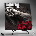 Pantera Vulgar Display of Power 3D artwork