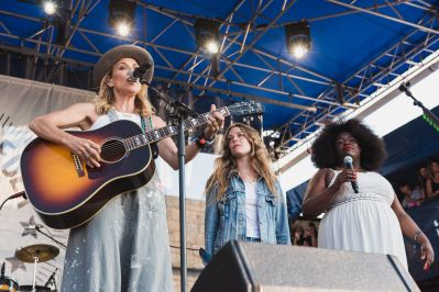Sheryl Crow, Maggie Rogers, and Yola at ♀♀♀♀: The Collaboration at Newport Folk Festival 2019