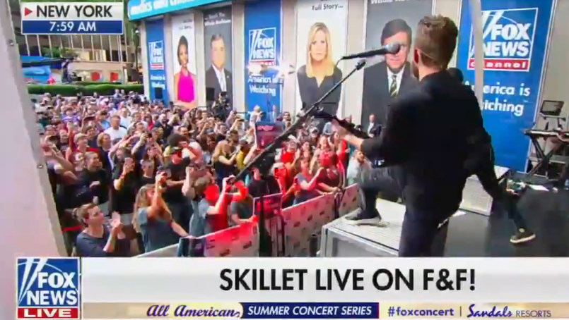 I've Seen Hell, and it's Skillet's Performance on Fox