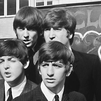 The Beatles in A Hard Day's Night