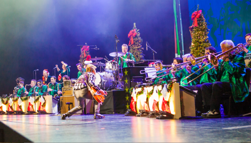 the brian setzer orchestra announce 2019 christmas rocks tour consequence of sound. Black Bedroom Furniture Sets. Home Design Ideas