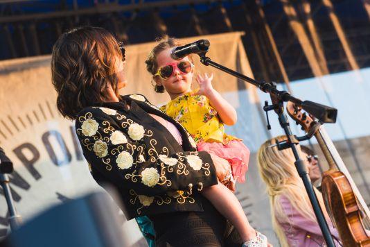 Amanda Shires at ♀♀♀♀: The Collaboration at Newport Folk Festival 2019