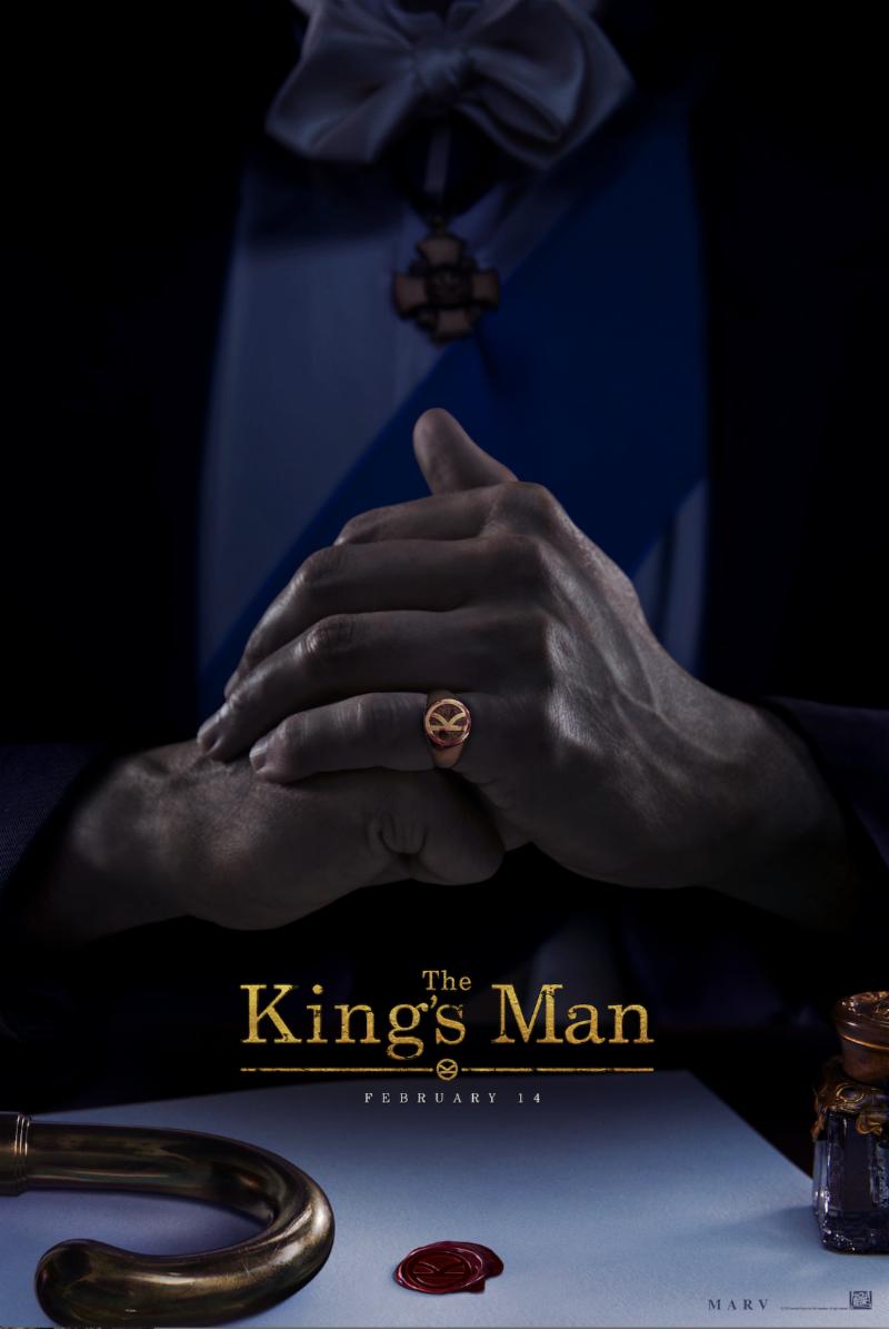 The King's Man poster prequel movie matthew vaughn ralpngg fiennes