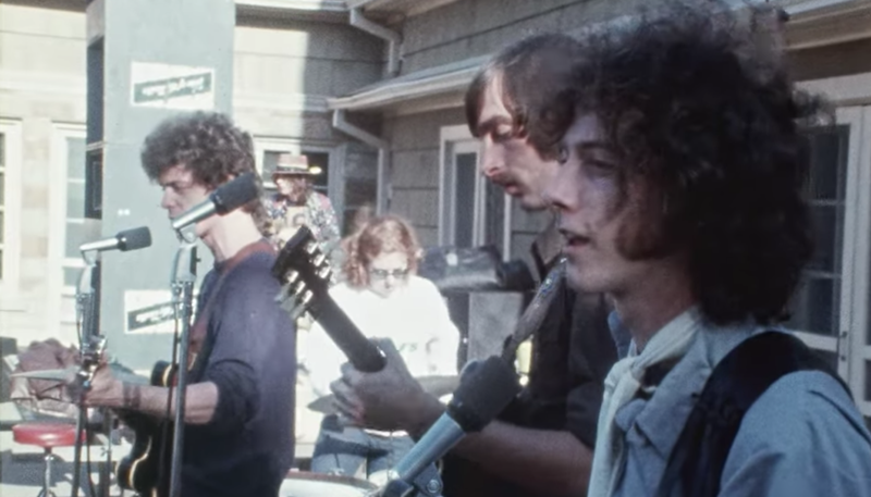 The Velvet Underground Color footage dallas vietnam protest archive footage