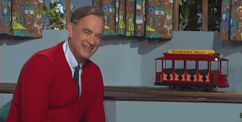 Tom Hanks in Mr Rogers biopic