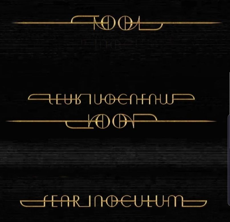 Tool's new album, Fear Incoulum, is out August 30thTool's new album, Fear Incoulum, is out August 30th