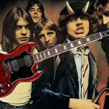 Win a Brand New Gibson SG Guitar from AC:DC highway to hell