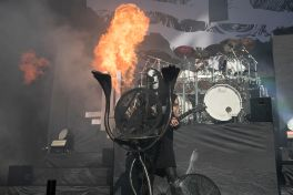 Behemoth at Shoreline Amphitheatre, photo by Raymond Ahner