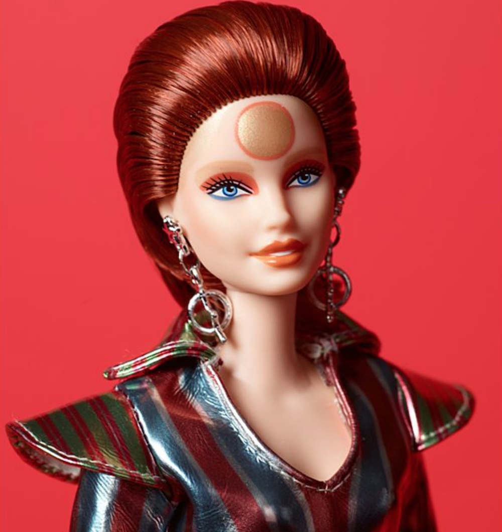 bowie barbie space oddity 2 Mattel releases David Bowie inspired Barbie to celebrate 50th anniversary of Space Oddity