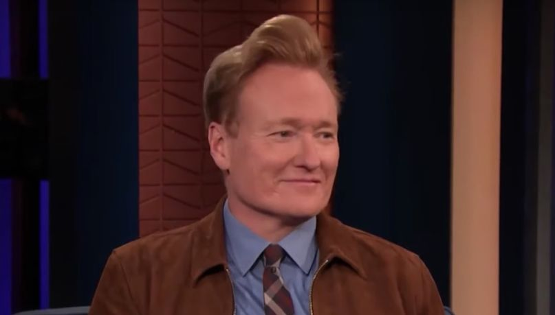Conan O'Brien wings entire show