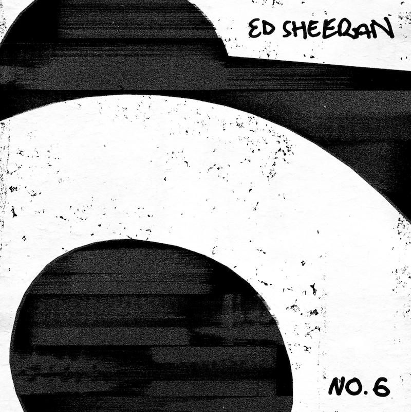 ed sheeran no6 collaborations artwork Ed Sheeran drops star studded new album No.6 Collaborations Project: Stream