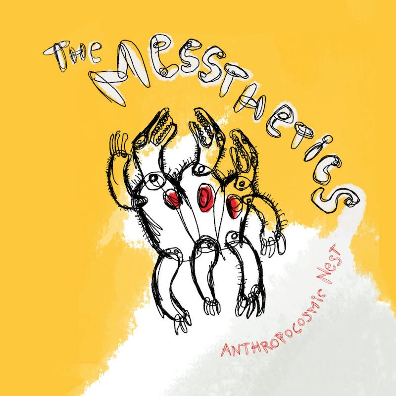 messthetics anthropocosmic nest album artwork The Messthetics announce new album, Anthropocosmic Nest, share Better Wings: Stream