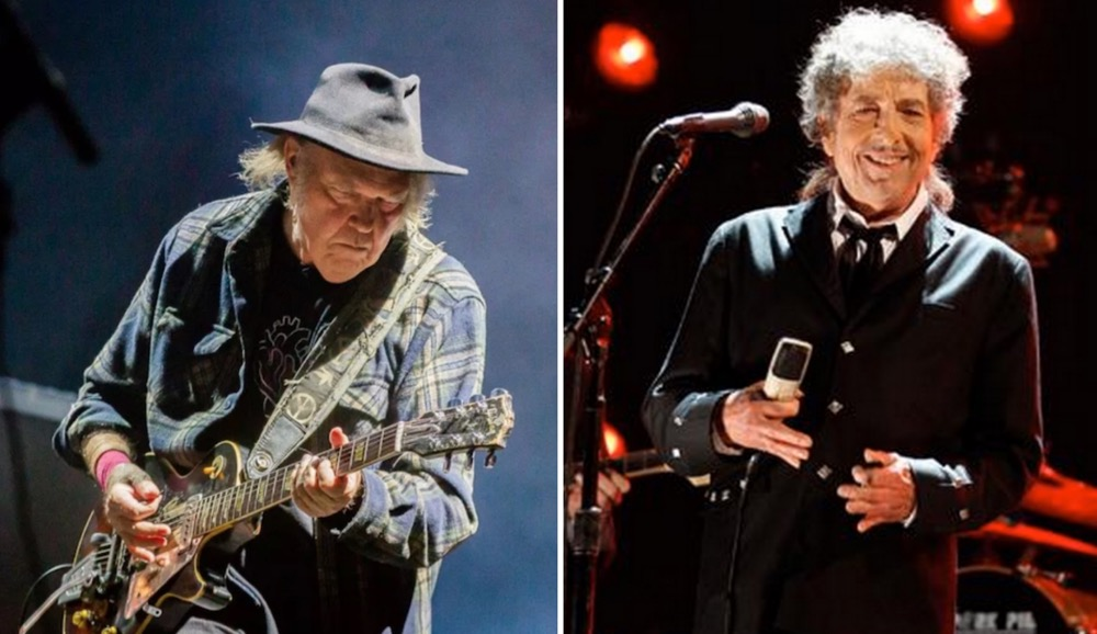 Neil Young and Bob Dylan perform together for the first time in 25 years: Watch