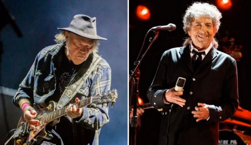 Watch Neil Young and Bob Dylan Perform For First Time in 25