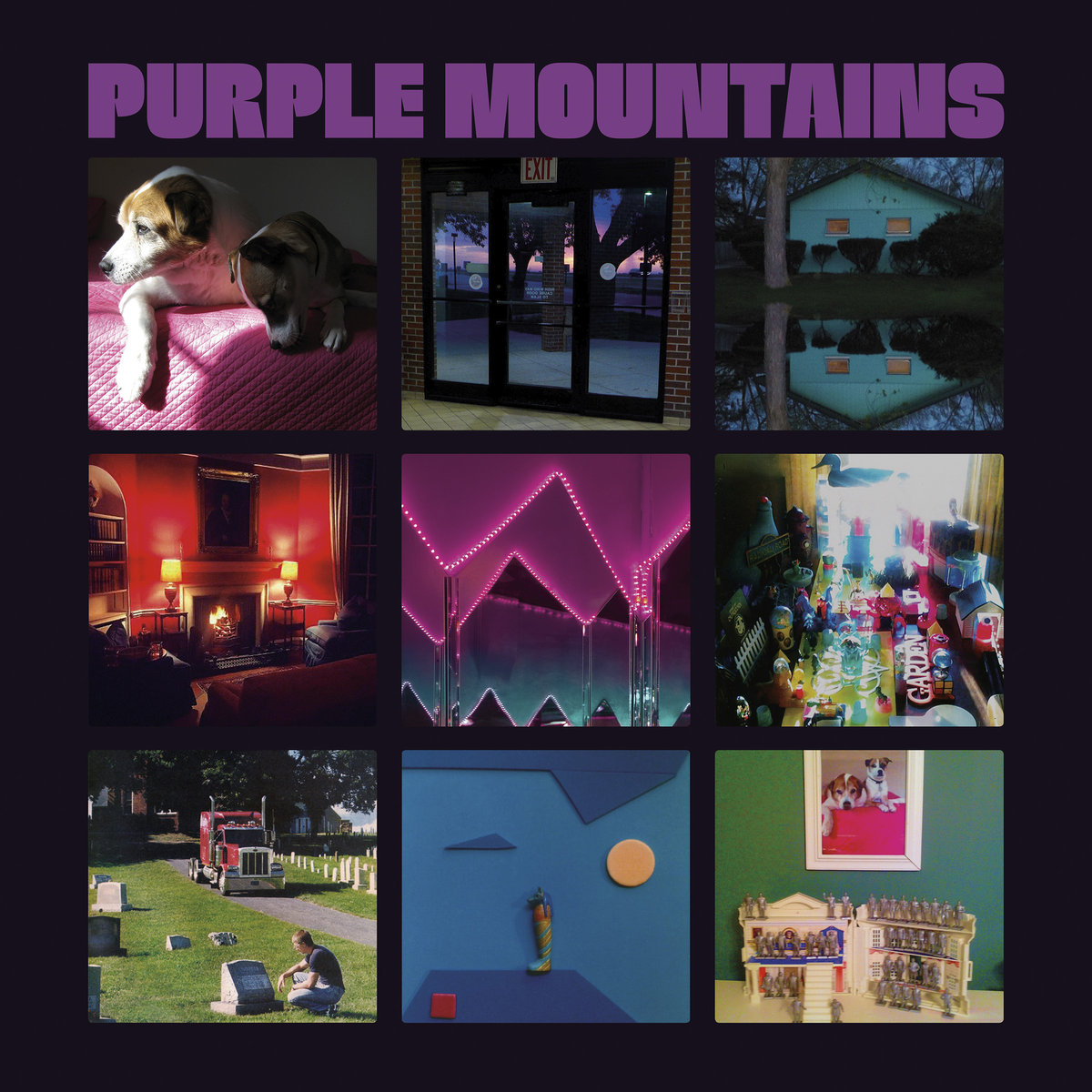 purple mountains album new debut artwork cover David Bermans Purple Mountains reveals debut album: Stream