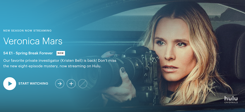 veronica mars new season now streaming hulu revival Veronica Mars revival hits Hulu one week early: Watch