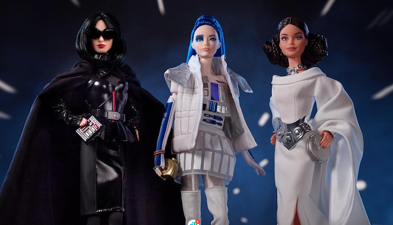 Barbie gets into cosplay with new Star Wars line