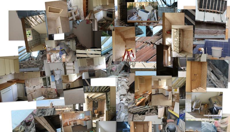 Bethlehem Steel Empty Room Collage
