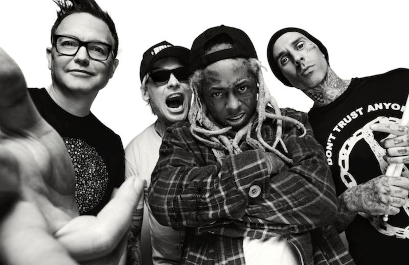 "Blink-182 and Lil Wayne share studio version of ""What's My Age Again? / A Milli"" mashup: Stream"