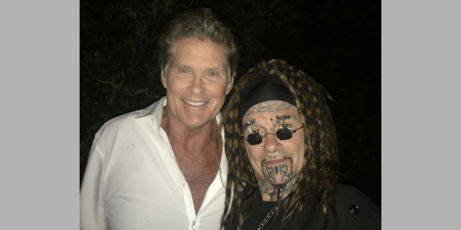 """David Hasselhoff's new album features """"Sweet Caroline"""" with Ministry, and other odd collaborative covers"""