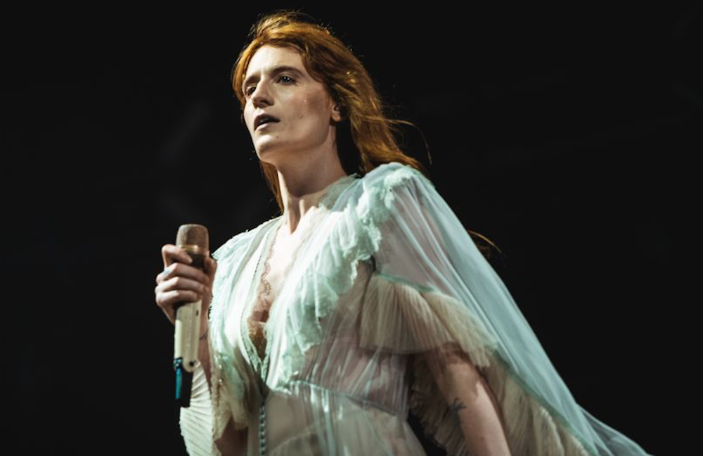 Florence and the Machine assist fan with surprise proposal onstage in Edinburgh: Watch