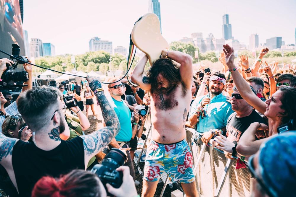 IDLES at Lollapalooza 2019, photo by Sydney Gawlik