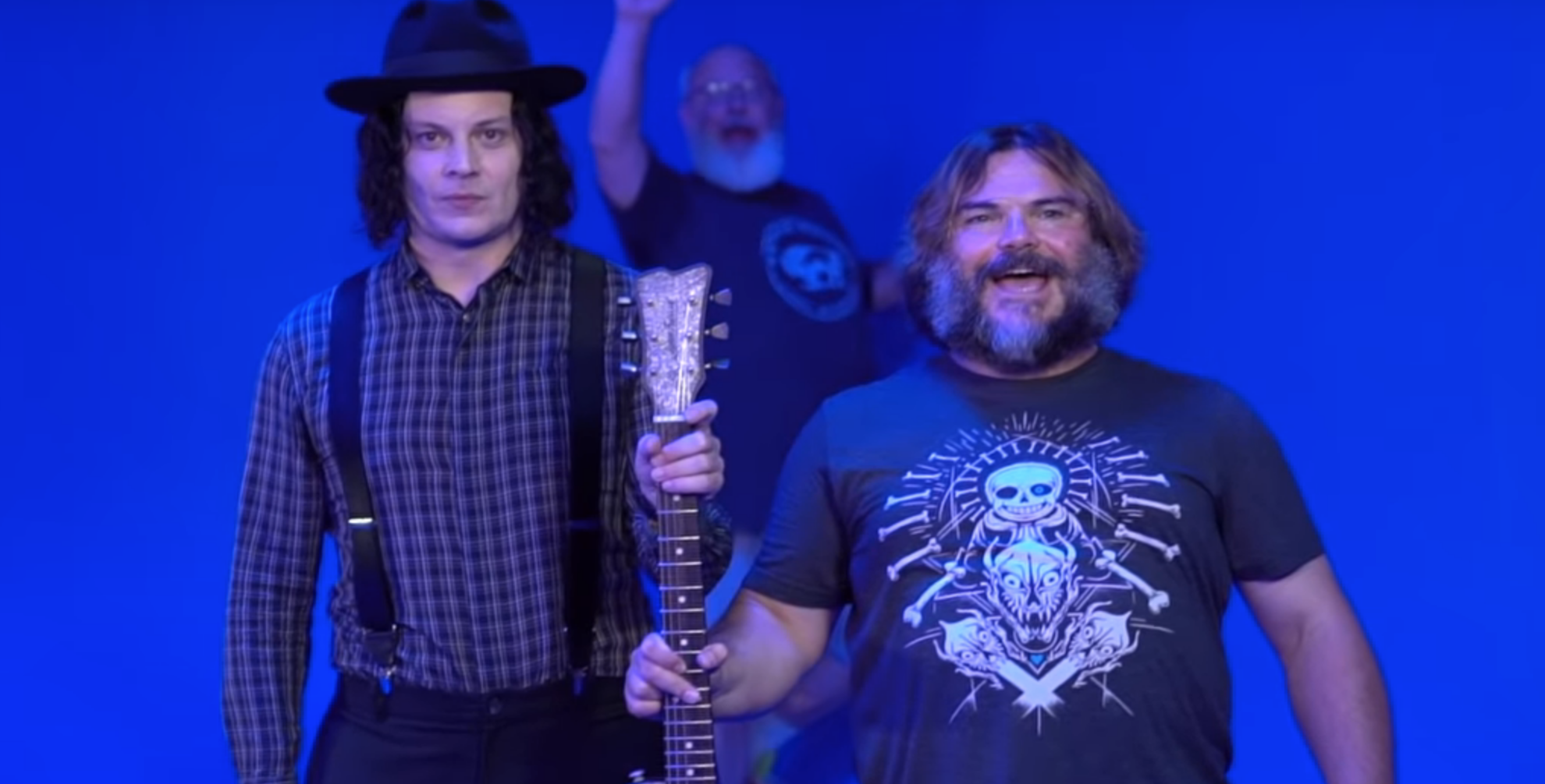 Tenacious D document collaboration with Jack White in new tour vlog: Watch